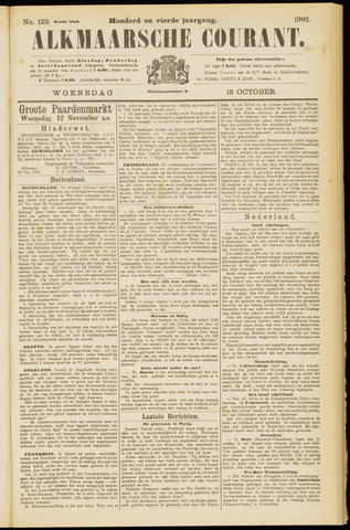 Alkmaarsche Courant 1902-10-15