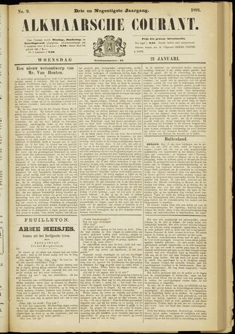 Alkmaarsche Courant 1891-01-21
