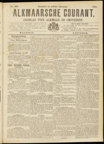 Alkmaarsche Courant 1906-10-08