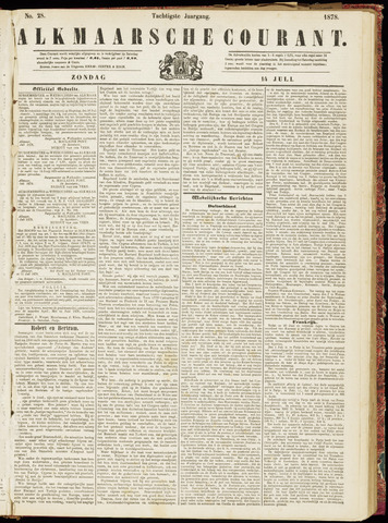 Alkmaarsche Courant 1878-07-14