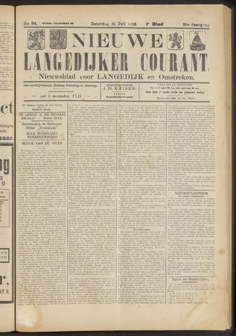 Nieuwe Langedijker Courant 1923-07-21