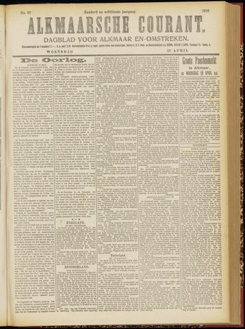 Alkmaarsche Courant 1916-04-12