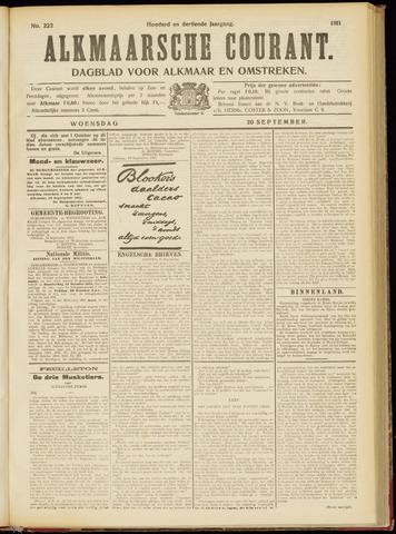Alkmaarsche Courant 1911-09-20