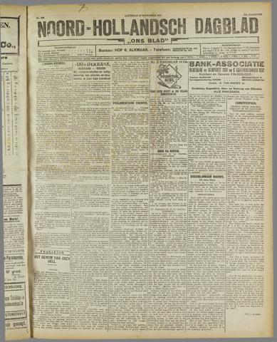 Ons Blad : katholiek nieuwsblad voor N-H 1921-11-19