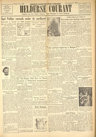 Heldersche Courant 1949-08-09