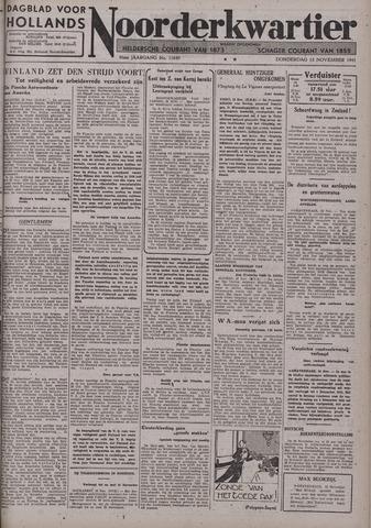 Dagblad voor Hollands Noorderkwartier 1941-11-13