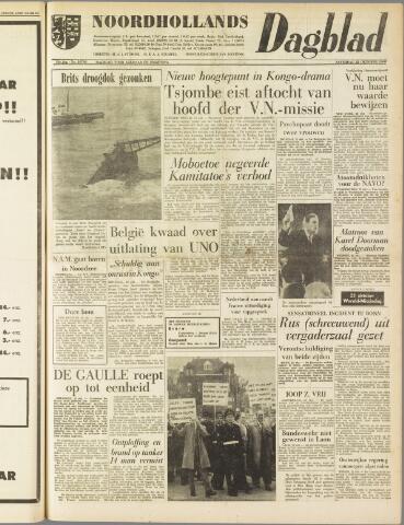 Noordhollands Dagblad : dagblad voor Alkmaar en omgeving 1960-10-22