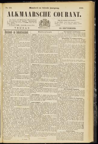 Alkmaarsche Courant 1900-09-28