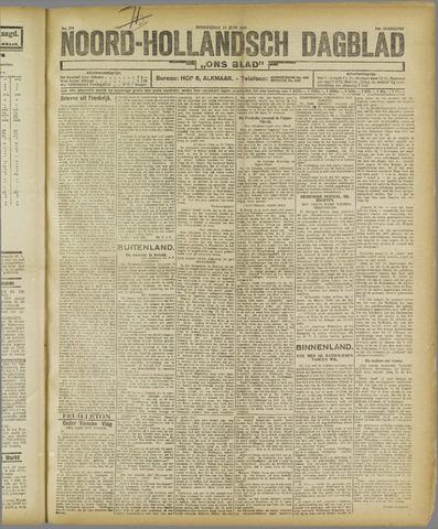 Ons Blad : katholiek nieuwsblad voor N-H 1921-06-23