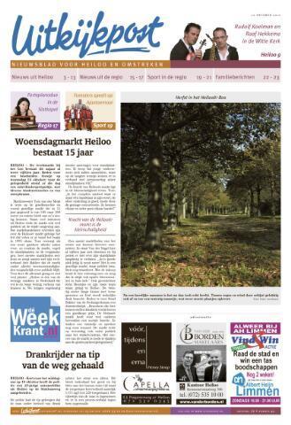 Uitkijkpost : nieuwsblad voor Heiloo e.o. 2010-10-20