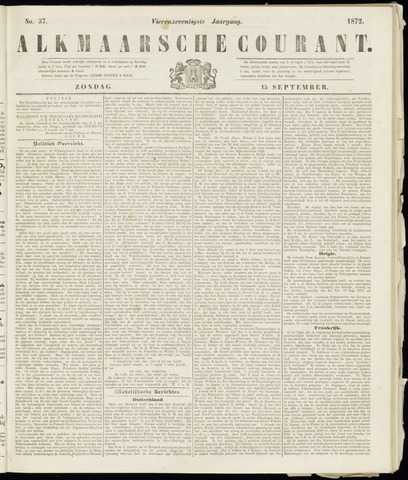 Alkmaarsche Courant 1872-09-15