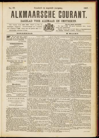 Alkmaarsche Courant 1907-03-21