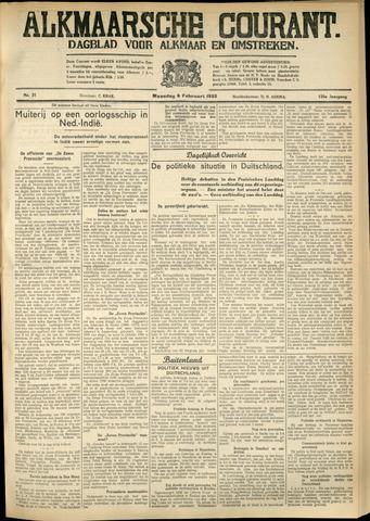 Alkmaarsche Courant 1933-02-06