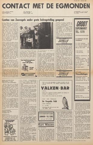 Contact met de Egmonden 1971-04-28