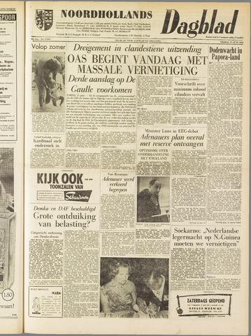 Noordhollands Dagblad : dagblad voor Alkmaar en omgeving 1962-06-15