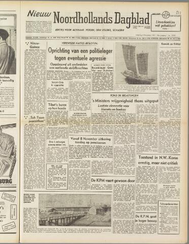 Nieuw Noordhollandsch Dagblad : voor Alkmaar en omgeving 1950-11-04