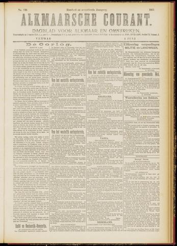 Alkmaarsche Courant 1915-06-04