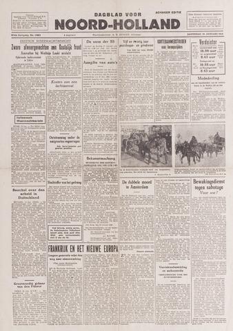 Dagblad Noord-Holland, Schager editie 1943-01-16