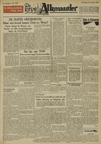 De Vrije Alkmaarder 1948-01-12