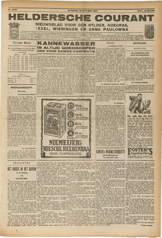 Heldersche Courant 1929-10-19
