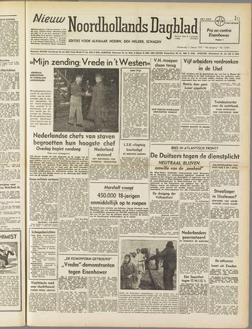 Nieuw Noordhollandsch Dagblad : voor Alkmaar en omgeving 1951-01-11