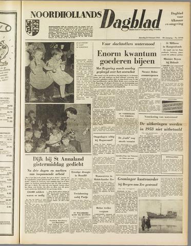 Noordhollands Dagblad : dagblad voor Alkmaar en omgeving 1953-02-21