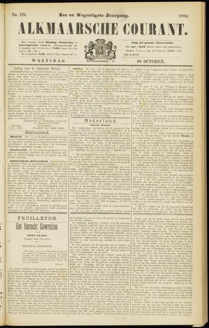Alkmaarsche Courant 1894-10-10