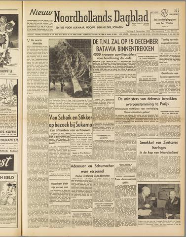 Nieuw Noordhollandsch Dagblad : voor Alkmaar en omgeving 1949-12-02