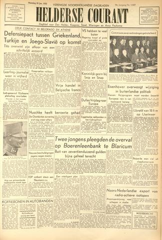 Heldersche Courant 1953-01-26