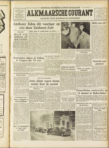 Alkmaarsche Courant 1955-01-06
