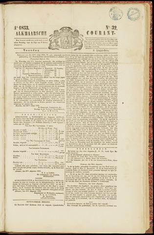 Alkmaarsche Courant 1853-08-08