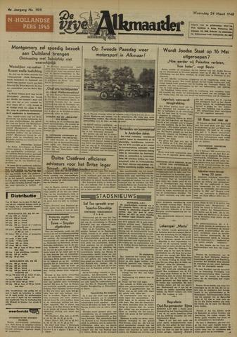 De Vrije Alkmaarder 1948-03-24