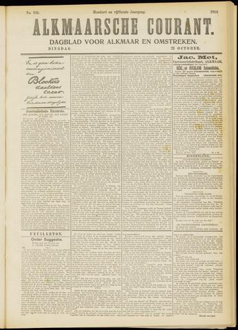 Alkmaarsche Courant 1913-10-21