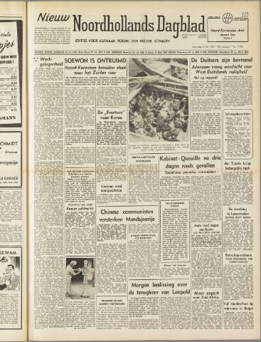 Nieuw Noordhollandsch Dagblad : voor Alkmaar en omgeving 1950-07-05