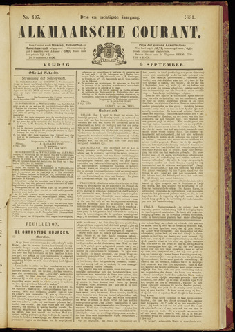 Alkmaarsche Courant 1881-09-09