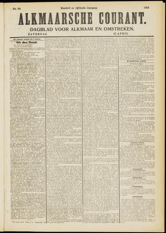 Alkmaarsche Courant 1913-04-12