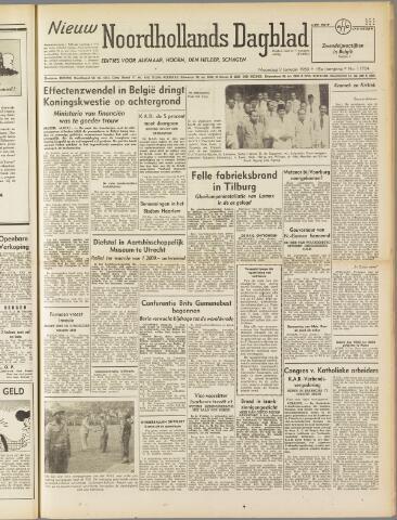 Nieuw Noordhollandsch Dagblad : voor Alkmaar en omgeving 1950-01-09