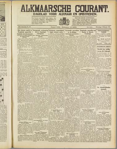 Alkmaarsche Courant 1941-02-03