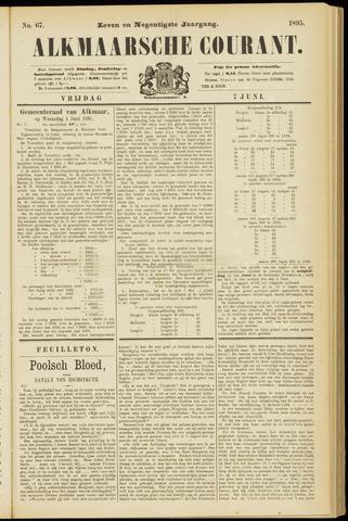 Alkmaarsche Courant 1895-06-07