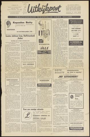 Uitkijkpost : nieuwsblad voor Heiloo e.o. 1970-02-04