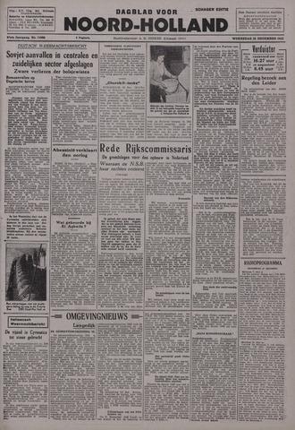 Dagblad Noord-Holland, Schager editie 1942-12-16
