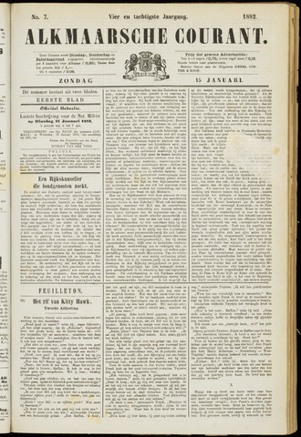 Alkmaarsche Courant 1882-01-15