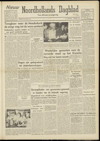 Nieuw Noordhollandsch Dagblad : voor Alkmaar en omgeving 1948-08-24