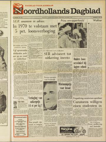 Noordhollands Dagblad : dagblad voor Alkmaar en omgeving 1969-06-21