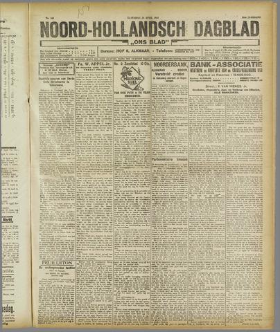 Ons Blad : katholiek nieuwsblad voor N-H 1921-04-23