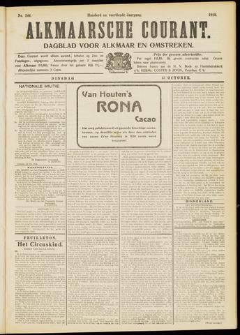 Alkmaarsche Courant 1912-10-15