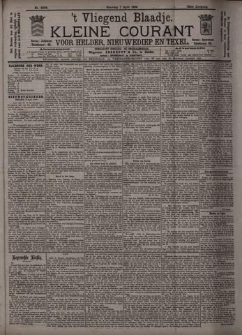 Vliegend blaadje : nieuws- en advertentiebode voor Den Helder 1894-04-07