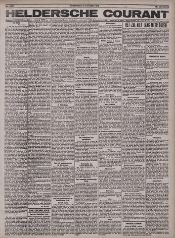 Heldersche Courant 1918-10-10