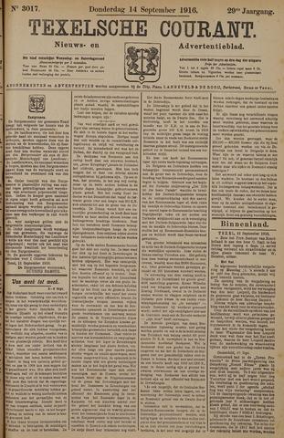 Texelsche Courant 1916-09-14