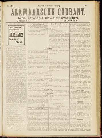 Alkmaarsche Courant 1911-10-25